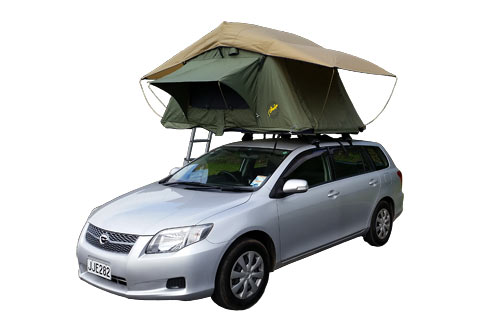 Stationwagon + Roof Tent